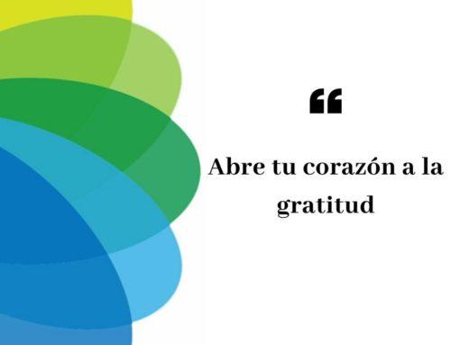 ¿Sabes que la gratitud es la forma más potente de conectar con los demás?