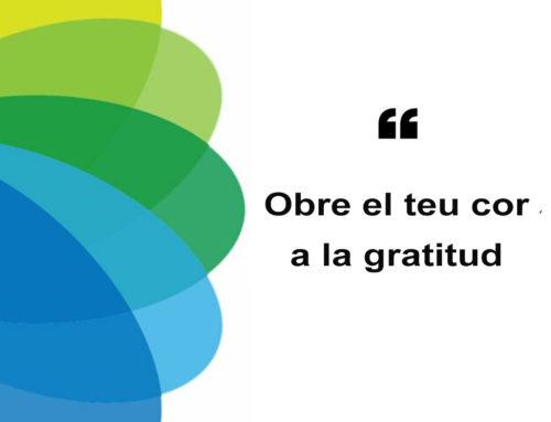Saps que la gratitud és la forma més potent de connectar amb els altres?